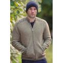 Rib Feature 2 Tone Jacket with Pockets